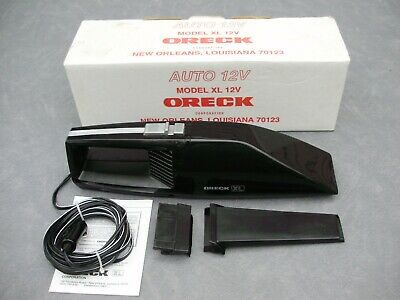 Oreck Xl Auto 12V Handheld Portable Car Vacuum (Xl1200) Black