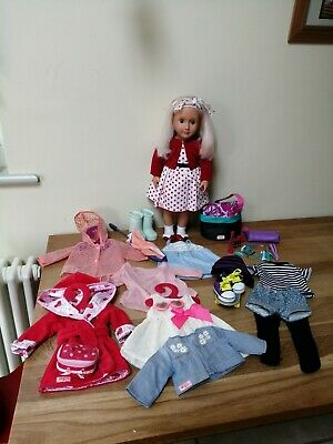 Our Generation Doll and Clothes Bundle