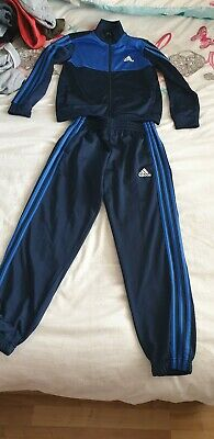 Boys Adidas Tracksuit Age 9-10 Years