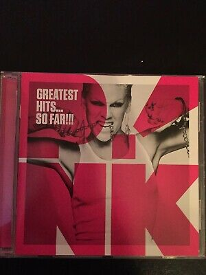 Pink Greatest Hits So Far Used 19 Track Best Of Cd 90s 00s Pop Rock Soul R&B