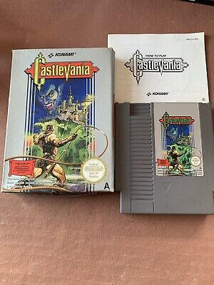 Castlevania - NES - Boxed complete with manual