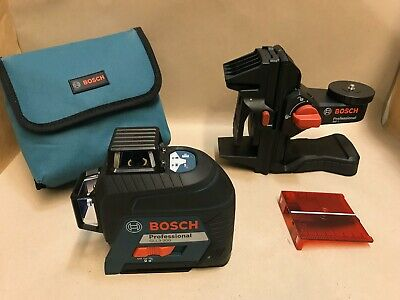 Bosch GLL3-300 360 Degree 200ft Three Plane Leveling Line Laser ++GREAT++