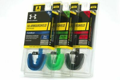 10 x UnderArmour Mouthguard Armourshield Flavourblast - Youth - Blue - Berry