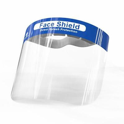 Full Face Covering Visor Mask Protection Reusable Splash Guard Safety