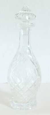 Gorgeous Signed Waterford Crystal Decanter 11""