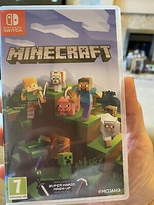 Nintendo Switch Game Minecraft Used Great Game