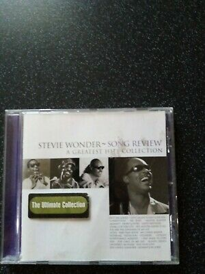 STEVIE WONDER SONG REVIEW/ A GREATEST Hits COLLECTION. THE ULTIMATE COLLECTION.