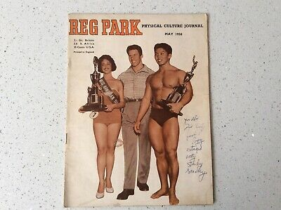 REG PARK Physical Culture Journal May 1958