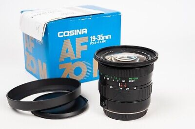 Cosina AF  zoom 19-35 1:3.5-4.5 MC for Canon EF mount
