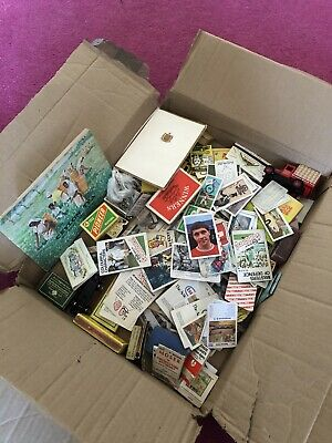 Joblot Of Matchboxes/books/trade Cards/cars Etc