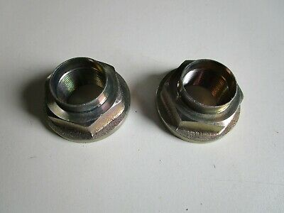 2 x trailer replacement one shot/ stake hub nut M30  Fits Ifor williams