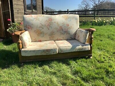 Antique Berger Two Seater Sofa