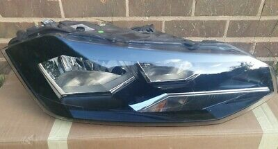 Volkswagen Polo 2018-2019 Drivers Side Right Headlight- Genuine