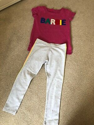 Girls Next Outfit Barbie T-shirt And Leggings Age 6 Years