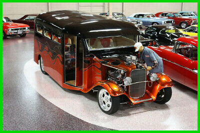 1932 Ford HENRY STEEL SCHOOL BUS 1932 FORD 1932 FORD HOT ROD BUS