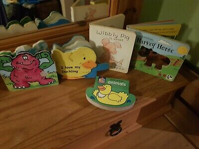 Five Toddler Books