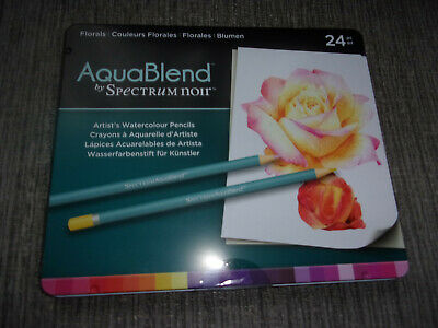 NEW  spectrum noir pack of 24 aqua blend pencils