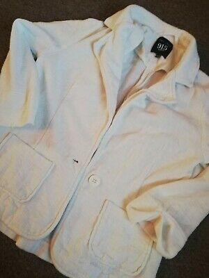 Girls New Look 915 White Blazer Jumper Jacket Aged