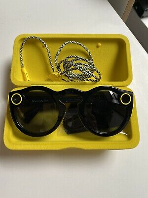 Snapchat Spectacles (Smart Glasses) - Onyx Eclipse