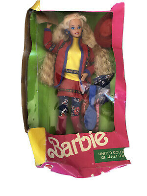 barbie united colors of benetton 1990 Edition