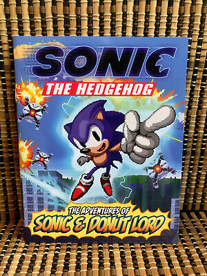 Sonic The Hedgehog Adventures Of Sonic Donut Lord Comic Book For Sale Picclick