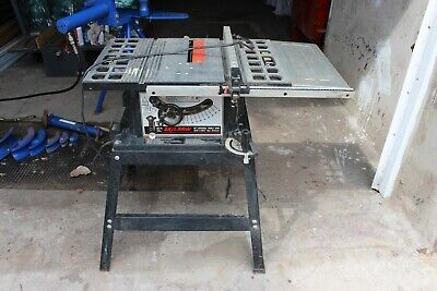 """Skil Saw Table saw 10"""" Model 3400 Excellent condition pick up only"""