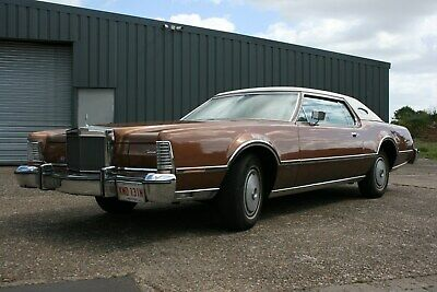 Mint Condition Mark IV 1975 Lincoln Continental 34K Miles Immaculate Throughout