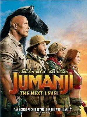 Jumanji: The Next Level (New,Sealed,2020,Dvd) Escape To Reality,Free Shipping...