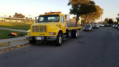 2001 International 21' Rollback Tow Truck Flatbed Wheel Lift Strong Dependable