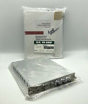 NEW Canberra Module 2037A Edge/Crossover SCA for Coincedence Counter