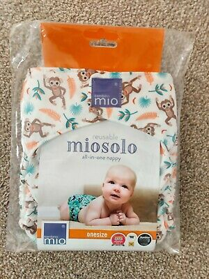 Brand New Reusable All In One Nappy bambino mio