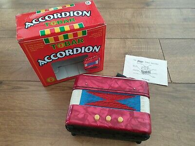 Tobar Mini Accordion Musical Instrument