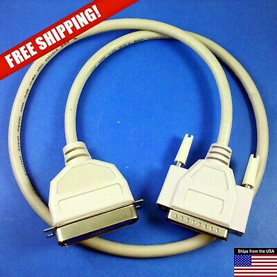 "Short 32"" Parallel Port Printer Cable 36-pin Centronics DB-25"
