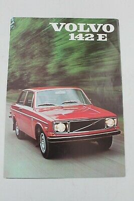 1971 Volvo 142E (1 year only) brochure also 1971 full line brochure