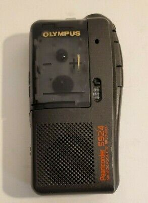 Olympus Pearlcorder S924 Microcassette Recorder VOR Voice Activated SERVICED !!!
