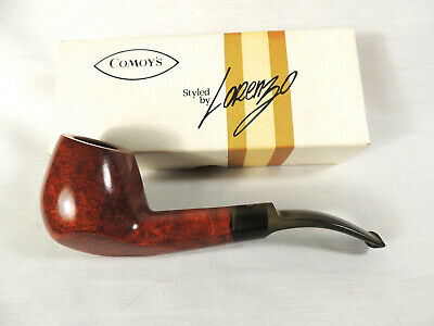 Comoy's Tintoretto Pipe Style by Lorenzo Unsmoked with Box