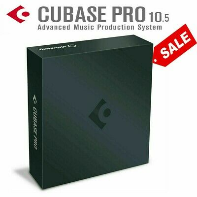 Cubase Pro 10.5  ✔ Fast eDelivey ✔ Windows 10 pro 64 bit ✔  it works perfectly