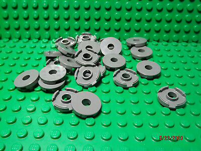 ** 25 CT LOT ** Lego NEW light bluish gray 2 x 2 plate W// pin holes  Lot of 25