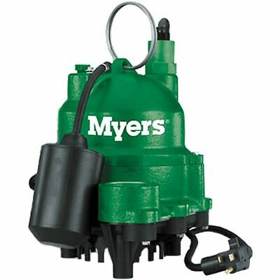 Myers MDC33P1 - 1/3 HP Cast Iron Sump Pump w/ Tether Float Switch