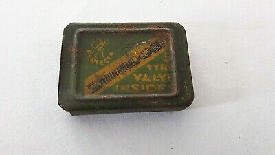 Vintage Perfecta Tyre Valve Insides Tin With Cores - Lovely Original Condition!