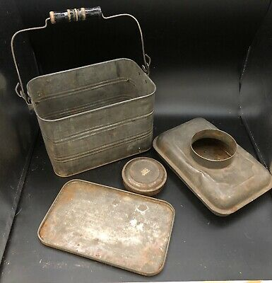 Antique Mining Collectibles, Bisbee Arizona, Miners Lunchbox