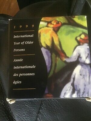 1999 Limited Edition Proof Silver Dollar International Year of Older Persons