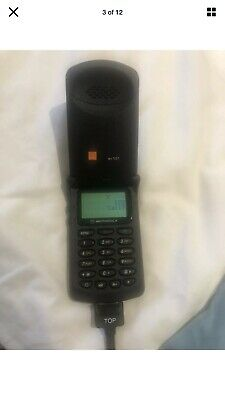 Motorola Startac. Working Fone With Charger. Vintage. Rare Phone. Free Delivery