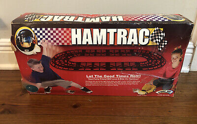 Hamster Super Pet Hamtrac Exercise Loop 8 Piece Build Racetrack For Ball 2 X 4