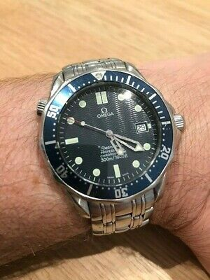 Omega Men's 2531.80.00 Seamaster James Bond 007 Automatic Stainless Steel Watch