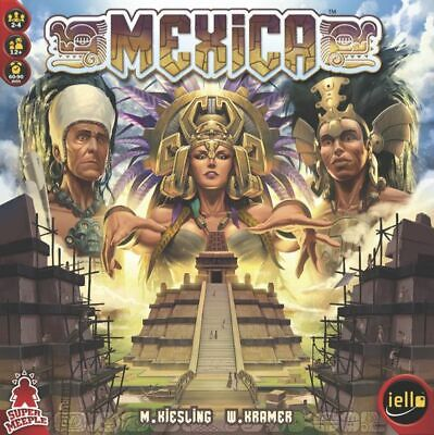 MEXICA BOARD GAME NEW AND SEALED SUPER MEEPLE iello