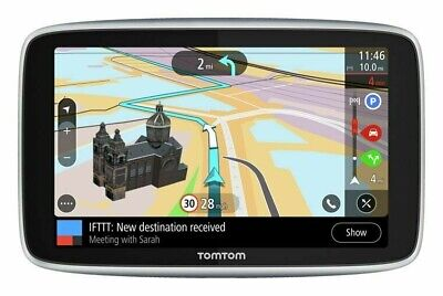 TomTom G0 Premium 5 Inch LCD Sat Nav with World Maps,Traffic & WiFi