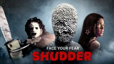 Shudder Account ⚡️Horror Thrillers Subscription 12 MONTHS WARRANTY 24/7 Delivery
