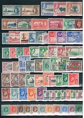 King George VI Mint Commonwealth Stamps