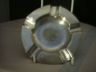 Quality Piece Of A Vintage Silver Plated Ashtray By Top Maker Adie Bros Ltd